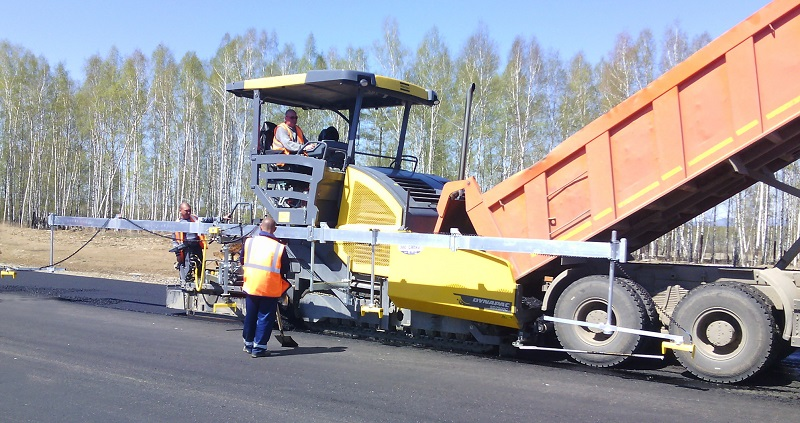 Paver with Big Sonic-Ski Siberia