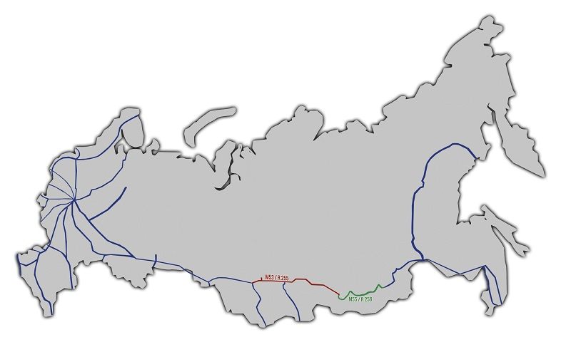 new Motorways in Russia